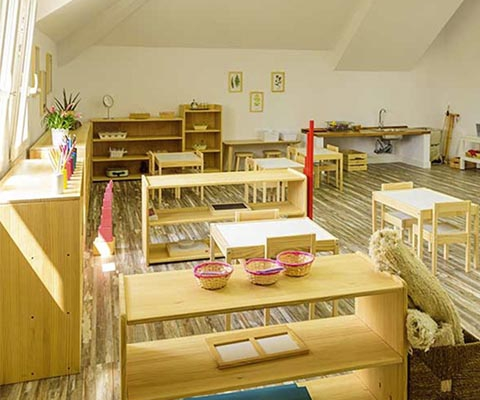 Casa de niños (3 a 6 años) - Visita virtual