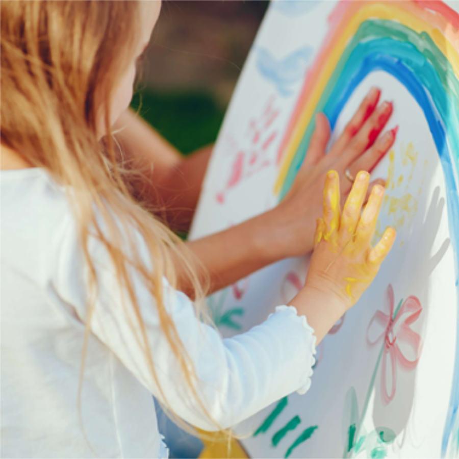 programa de enriquecimiento dibujo y pintura edad remprana