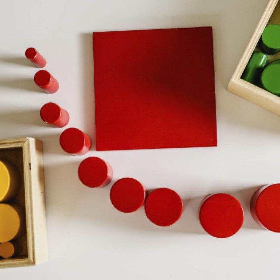 qué es la pedagogía montessori - Uso de materiales específicos