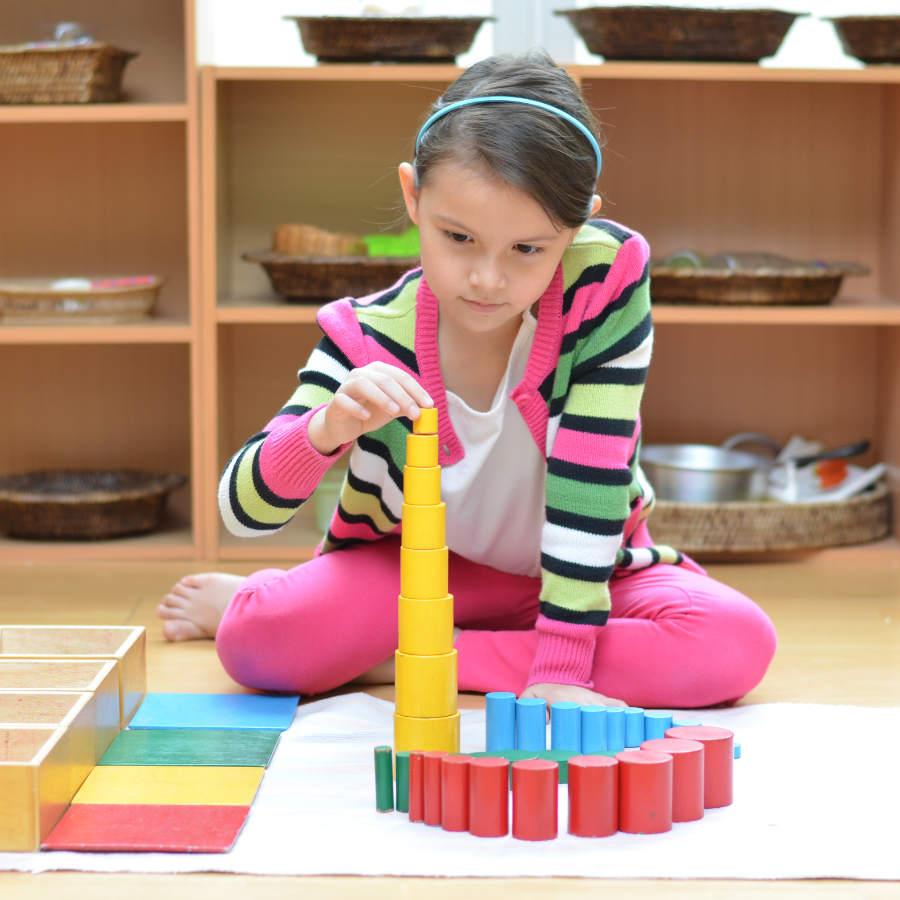 cómo trabajamos la pedagogía montessori
