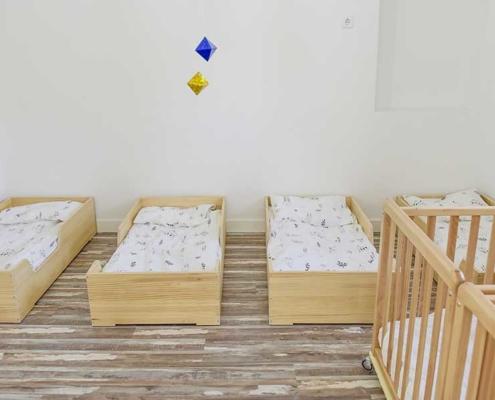 Espacios programa nido 6 - 8 meses greenleaves montessori