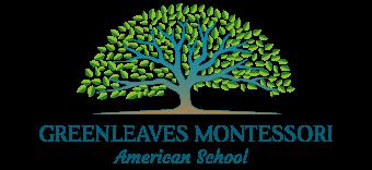 logotipo greenleaves montessori